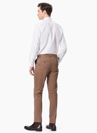 Network Uzun Kollu Slim Fit Klasik Gömlek Beyaz